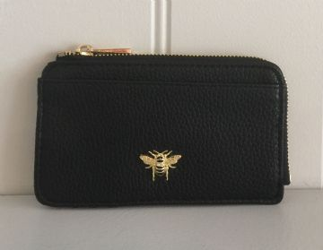 Alice Wheeler Bumblebee Card Purse - Black